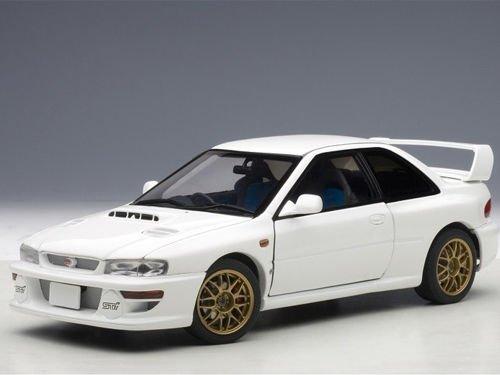 Subaru Impreza 22B White (Upgraded Version) Limited Edition to 1500pcs 1/18 by Autoart ()