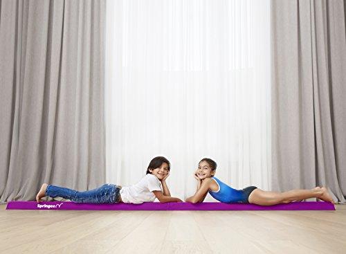 297a2cfc7964 Springee 9.5ft Balance Beam - Extra Firm Folding Gymnastics Beam - Practice  Gymnastics Equipment for