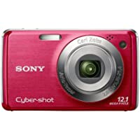 Sony Cyber-shot DSC-W230 12 MP Digital Camera with 4x Optical Zoom and Super Steady Shot Image Stabilization (Dark Red) Review Review Image