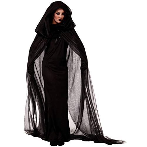 Homemade Maternity Halloween Costumes (LODDD Women Halloween Cosplay Costume Vintage Vampire Horror Bride Long Dress)