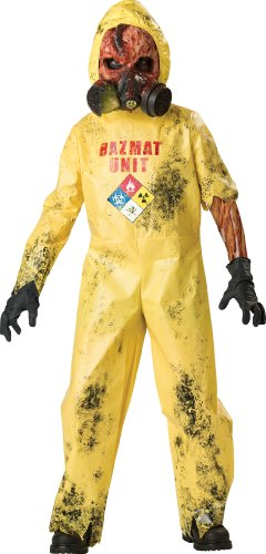 InCharacter Costumes, LLC Boys 8-20 Hazmat Hazard Jumpsuit