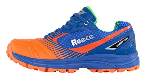 Reece Hockey Shark Hockey Schuh - BLUE-ORANGE, Größe #:12