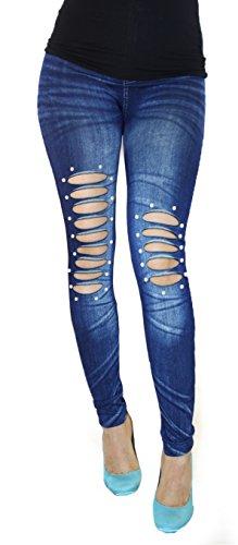 W38 Femme Bleu 02BU Blau Jeans Jygles 60 Blau Skinny CpwxEYCtqF