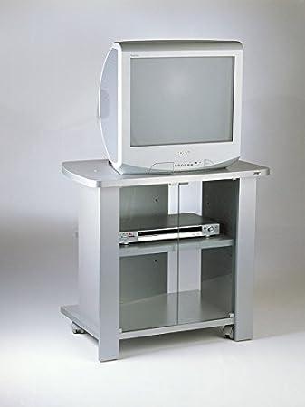 Mobile carrello porta tv Kleo 74 silver: Amazon.it: Elettronica