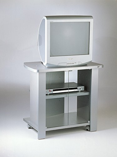 Mobile carrello porta tv Kleo 74 silver: Amazon.it: Elettronica