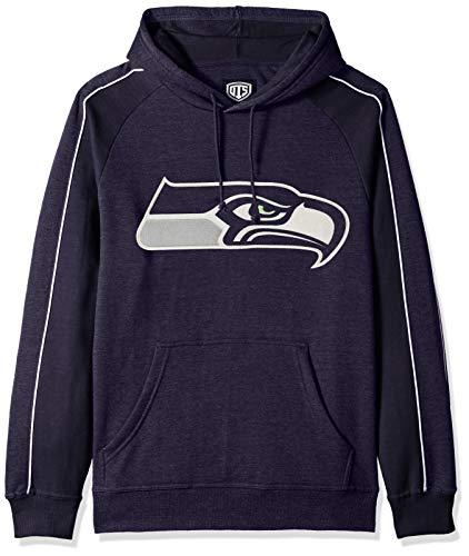 NFL Seattle Seahawks Men's OTS Merciless Hoodie, Logo, Large