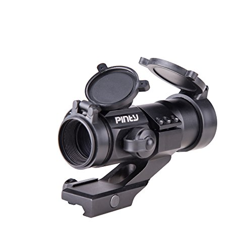 Pinty 4 MOA Red Green Dot Tactical Reflex Sight with Rail Mo
