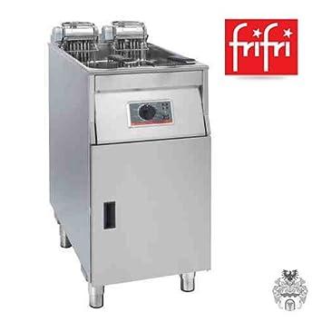 Frifri Basic + 411 20,5l 22 Kw Eléctrico de acero inoxidable de fritura profesional de soporte de: Amazon.es: Hogar