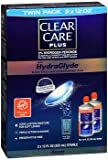 Clear Care Plus 3% Hydrogen Peroxide Cleaning & Disinfecting Solution with HydraGlyde - 24 oz, Pack of 3