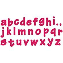 Sizzix Lollipop Shadow Lowercase Alphabet Bigz Dies Series 2