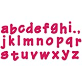 Sizzix 657893 Lollipop Shadow Lowercase Alphabet Bigz Dies Series 2