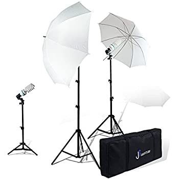 julius studio pography studio video portrait umbrella continuous bulb triple lighting kit jsag1