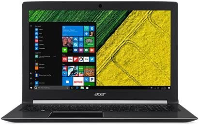 Acer Aspire E15 E5-576 15.6-inch Laptop (7th Gen Intel Core i3-7020U/4GB/1TB/Linux/Integrated Graphics), Obsidian Black Laptops at amazon