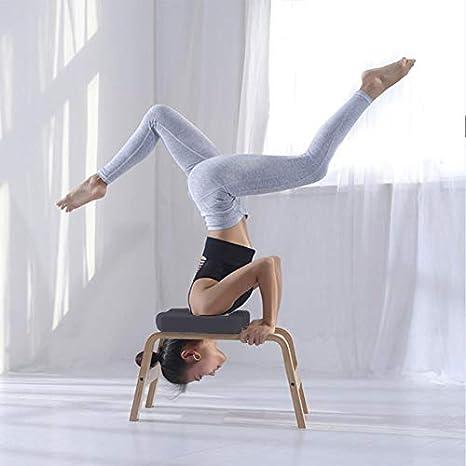 chlius Soporte para Cabeza de Yoga Silla de Inversión de ...