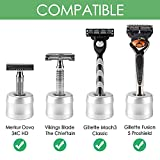 Linkidea 2 Pack Safety Razor Stand, Opening Dia