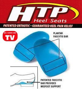 HTP talon Coupe Inserts (Bleu, Grand)