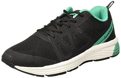 Lotto Men's Flint Black/Teal Running Shoes-6 UK/India (40 EU) (AR4855-040)