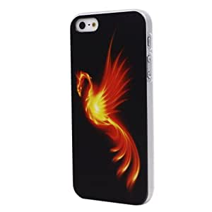 Highmall Burning Phoenix Hard Back Protector Case Cover Shell for iPhone 5 5S
