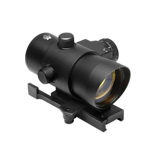 NcStar DLB140R 1x40 Red Dot Sight With Built In Red Laser/qu