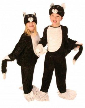 Child Costume Black u0026 White Cat Suit - 3-4 Years Amazon.co.uk Toys u0026 Games  sc 1 st  Amazon UK & Child Costume Black u0026 White Cat Suit - 3-4 Years: Amazon.co.uk: Toys ...