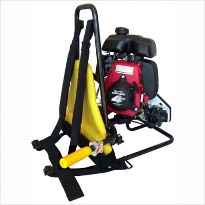 2.5 HP Gas Backpack Concrete Vibrator Power Unit with Head and Shaft Options ()