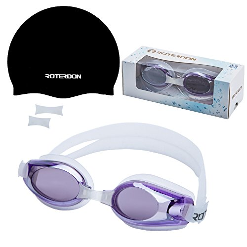 Swimming Anti Fog Protection Replaceable Pieces Goggles
