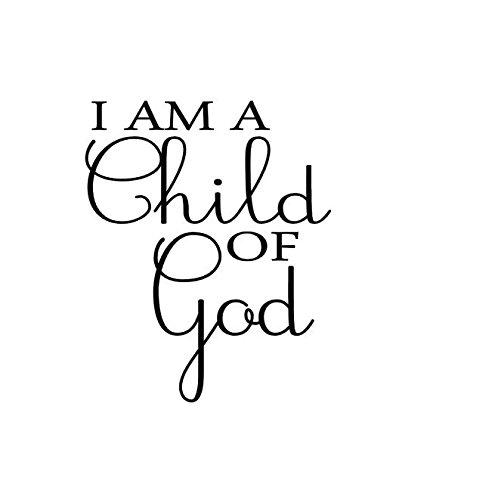 I am a Child of God Vinyl Christian Wall Decal Vinyl Wall Art  sc 1 st  Amazon.com & Amazon.com: I am a Child of God Vinyl Christian Wall Decal Vinyl ...