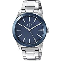 Armani Exchange Men's Dress Silver Watch AX2331