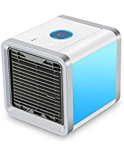 USB Artic Air Cooler Fan Personal Space Cooler Portable Desk Fan Mini Air Conditioner Device Cool Soothing Wind For Home Office