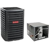 5 Ton 16 Seer Goodman Air Conditioning Condenser and Horizontal Coil GSX160601 - CHPF4860D6 - TX5N4