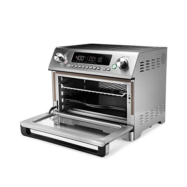 Instant Omni Plus Air Fryer Toaster Oven 11 in 1, 26L, Rotisserie, Reheat Pizza, XL 2