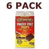 Catchmaster APG-812SD-6PK Pantry Pest Moth Traps, 12 Total Traps