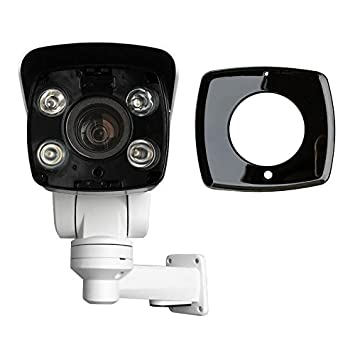 New 4MP 10x optical Zoom Mini PTZ Outdoor IP Camera POE IR H 265 IP66 HD TF  Card Slot Contains Bracket