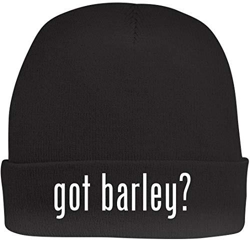 Shirt Me Up got Barley? - A Nice Beanie Cap, Black, OSFA