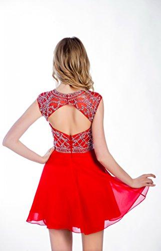 Perles Courte Des Femmes Dreamdress Robes De Cocktail Bal Bal De Partie Personnalisée