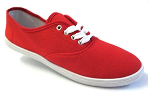 Shoes Womens Lace Red Available 18 Canvas 324 up 18 Shoes Sneakers Colors t5wRqWA54