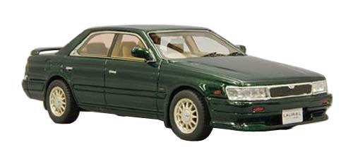 1/43 日産 ローレルメダリスト クラブS 1989年(ダークグリーンメタリック) L43050