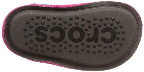 Crocs Unisex-Kids Classic K Slipper, Candy Pink, 12 M US Little Kid by Crocs (Image #3)