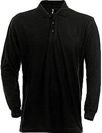 100220 Heavy Piqué L/Sleeve Polo Shirt