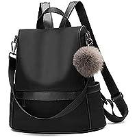 Sidhi Vinyak Girls Synthetic Black Backpack