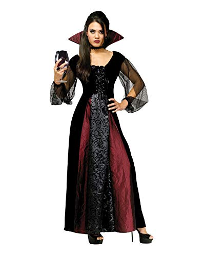 Martine Cajucom Halloween Costumes - FunWorld Goth Maiden Vamp, Black, 2-8