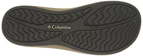 Columbia Kvinna Caprizee Flip Läder Athletic Sandal Sten / Haj