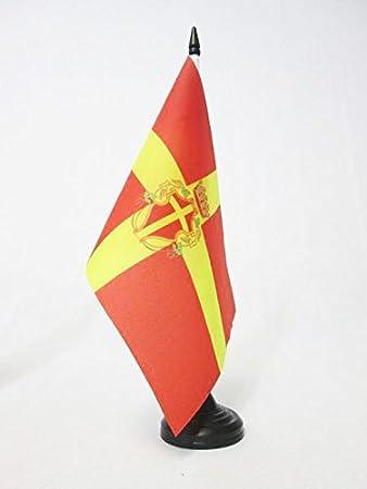 Piccola BANDIERINA Canadian Army 14 x 21 cm AZ FLAG Bandiera da Tavolo Esercito Canadese di Canada 21x14cm
