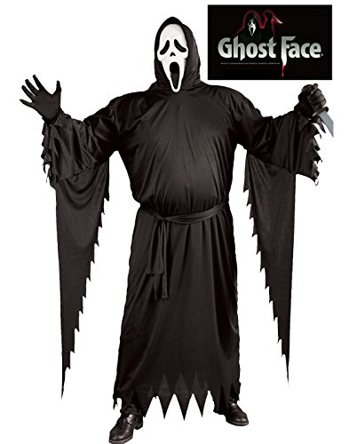 Ghost Face Adult Costume - Plus Size