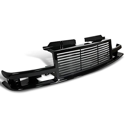 Spec-D Tuning HG-S1098JM Shinny Black Chevy S10 Pick Up Blazer Front Bumper Grille 1Pc (Chevy Blazer Back Bumper compare prices)