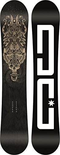 DC Men's Space Echo Snowboard, 154, Multicolor ()