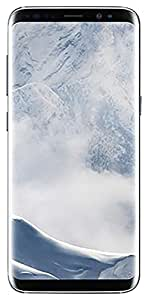 "Samsung Galaxy S8 64GB Phone -5.8"" display - T-Mobile Unlocked (Arctic Silver)"
