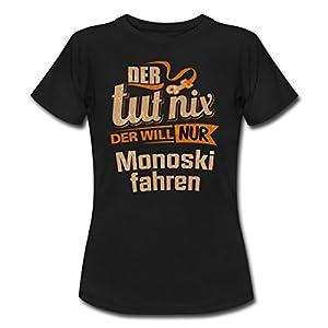 Der Tut Nix Der Will Nur Monoski RAHMENLOS Herren Sportart Sports Fun Design...