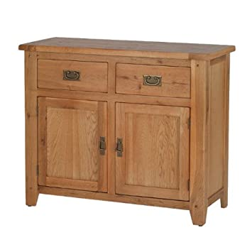 Rustic Oak Small Sideboard   Furniture