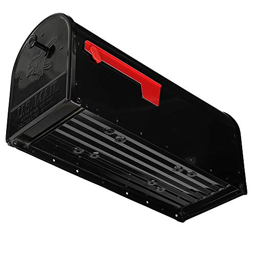 Gibraltar Mailboxes OM160B01 Outback Double Door, Large Capacity Mailbox Black by Gibraltar Mailboxes (Image #5)